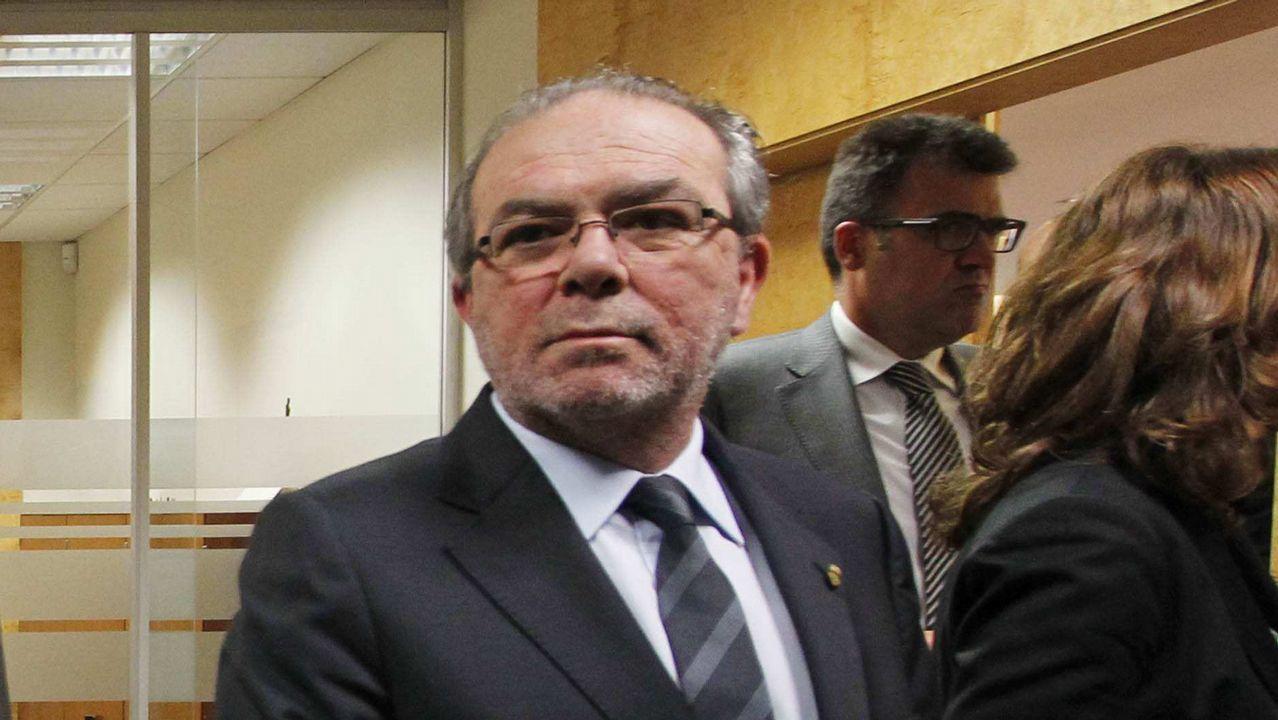 Quim Torra: «O se pacta una propuesta de autodeterminación o no podemos garantizar la estabilidad de Sánchez en el Congreso».El presidente de la diputación de Lérida, en una imagen de archivo
