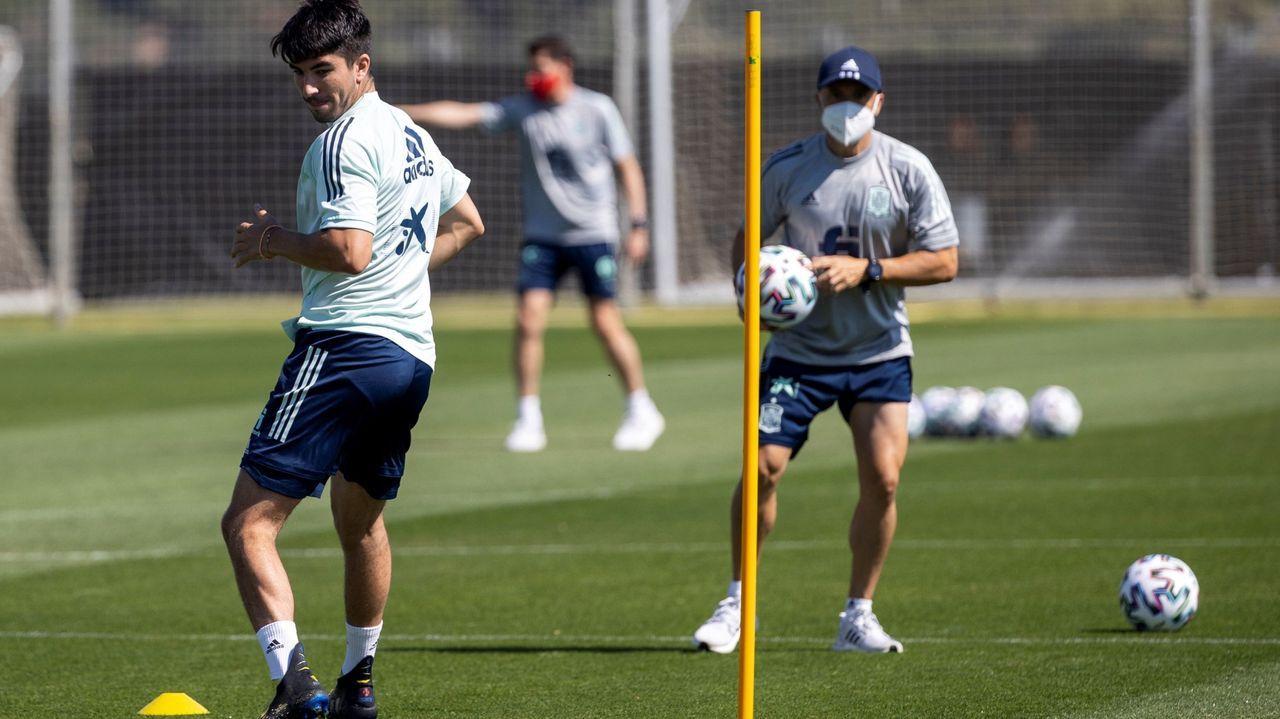 Según el técnico asturiano, los futbolistas españoles se quejaron del estado del césped