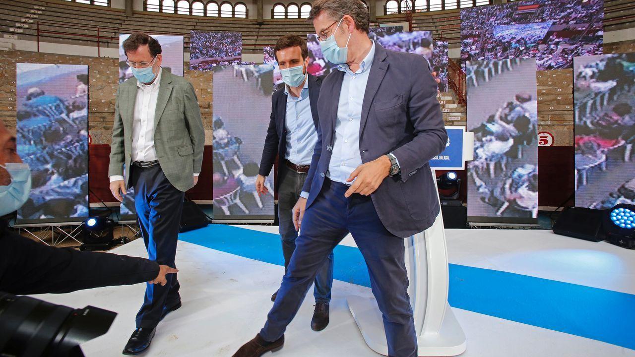 Rajoy, en el centro de la diana de Bárcenas.Luis Bárcenas, Francisco Correa y Pablo Crespo, en el juicio del caso Gürtel, en el que los tres fueron condenados