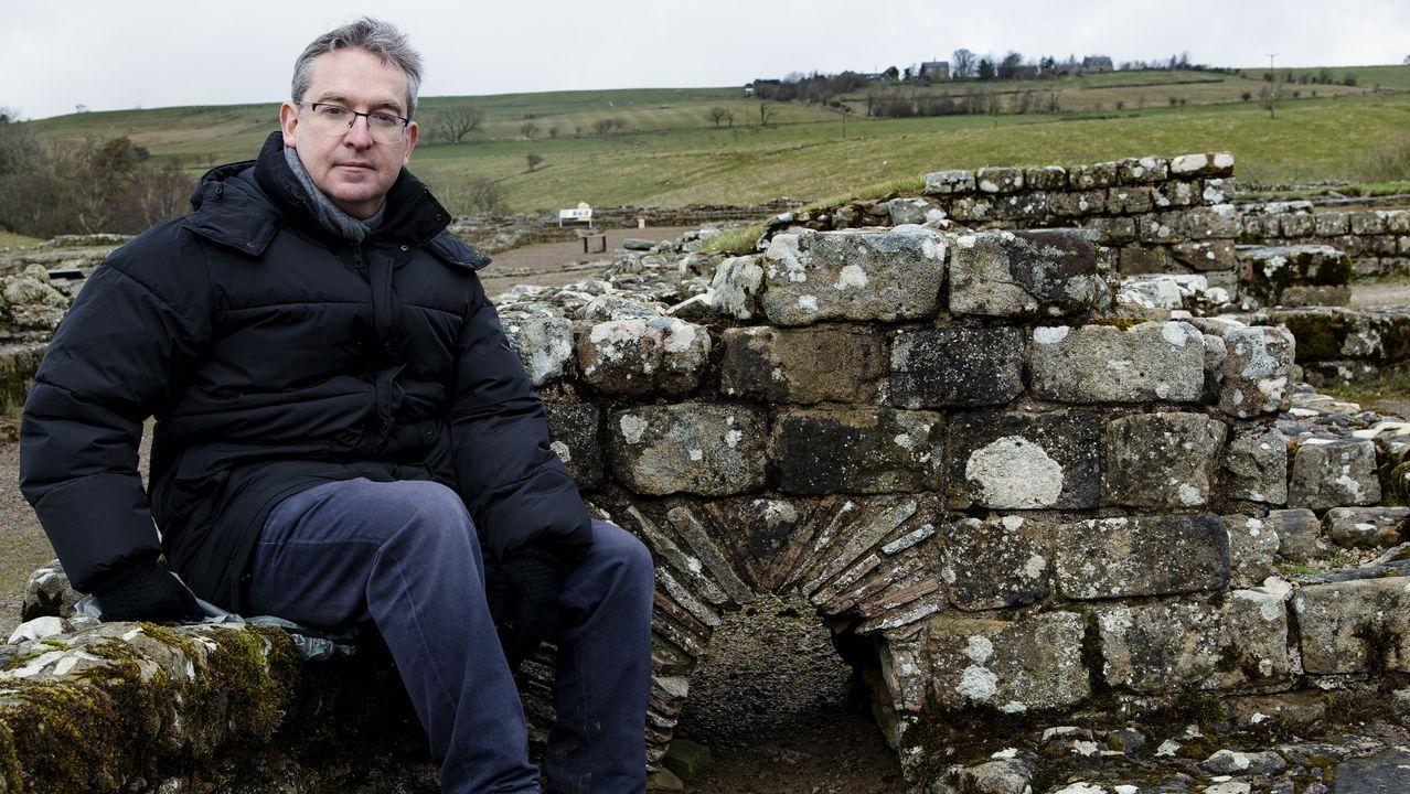 libros.Posteguillo presentó a principios de mes en el muro de Adriano (Gran Bretaña) su novela