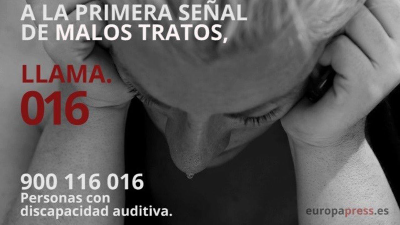 La vivienda de los padres detenidos en Lugo acumulaba gran cantidad de basura.Campaña contra la violencia de género