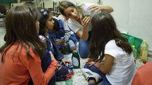 Niñas en un taller de altas capacidades