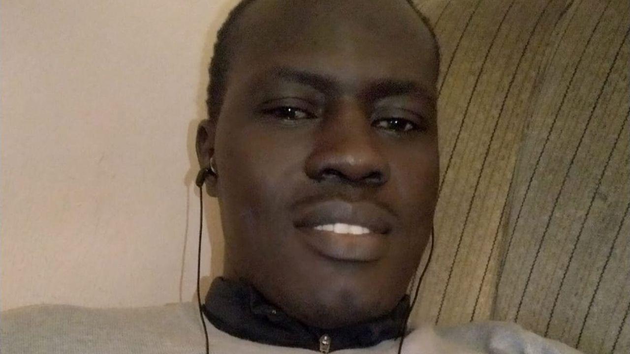 Modou Diop, senegalés que lleva desde 2008 viviendo en Asturias