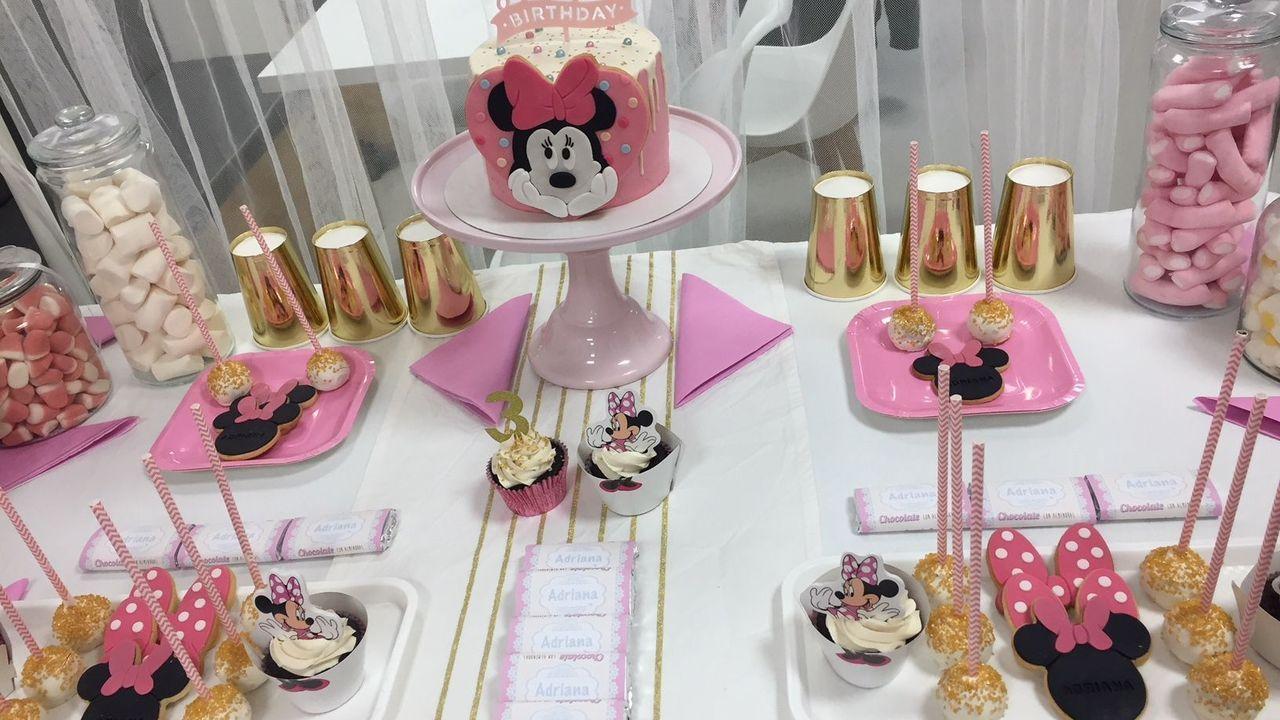 Mesa dulce de cumpleaños de Happy Bake