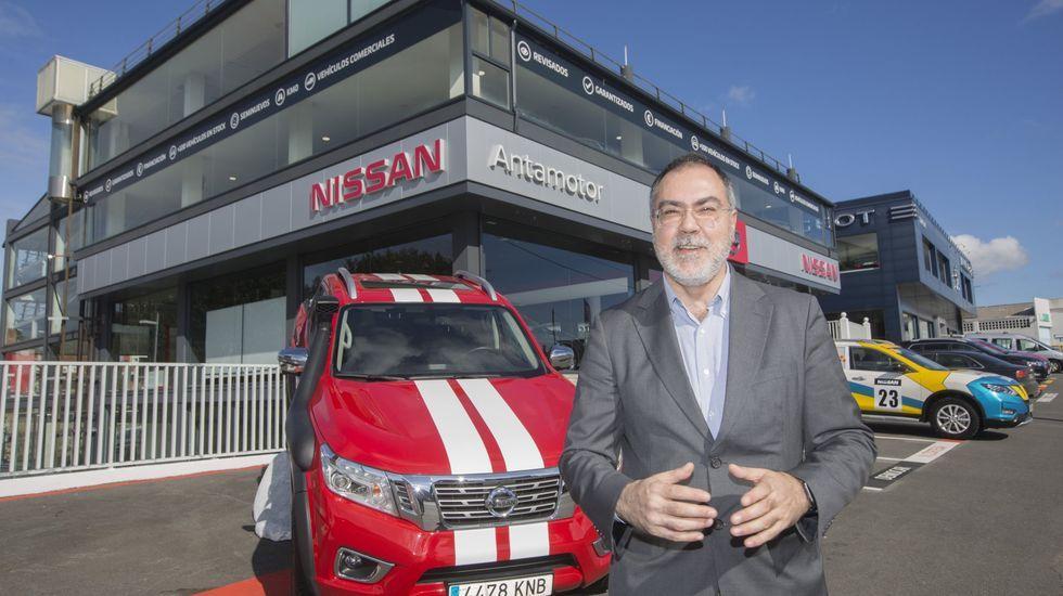 Las imágenes del primer día laboral con el estado de alarma en Galicia.nuevo Nissan Leaf e+