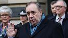 Salmond, a la salida del tribunal