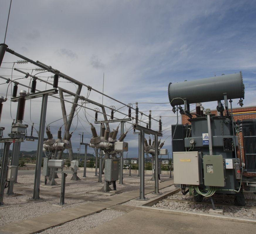 E.ON recibe en Lugo energía procedente de parques eólicos.