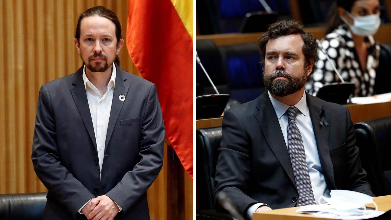 Iglesias: «A Vox le gustaría dar un golpe de estado, pero no se atreven».Pablo Iglesias