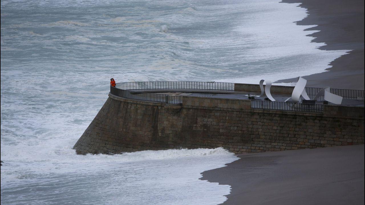 ¿60 metros menos de costa en Galicia para 2100?.Fitzroy fue el creador de la agencia meteorológica inglesa