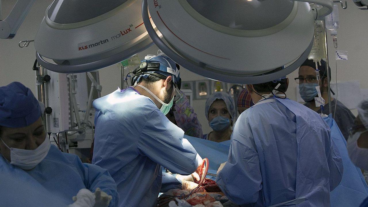 Vacunación en el centro de salud de Viveiro.La donación de riñón entre vivos para trasplante es habitual, pero no siempre hay compatibilidad