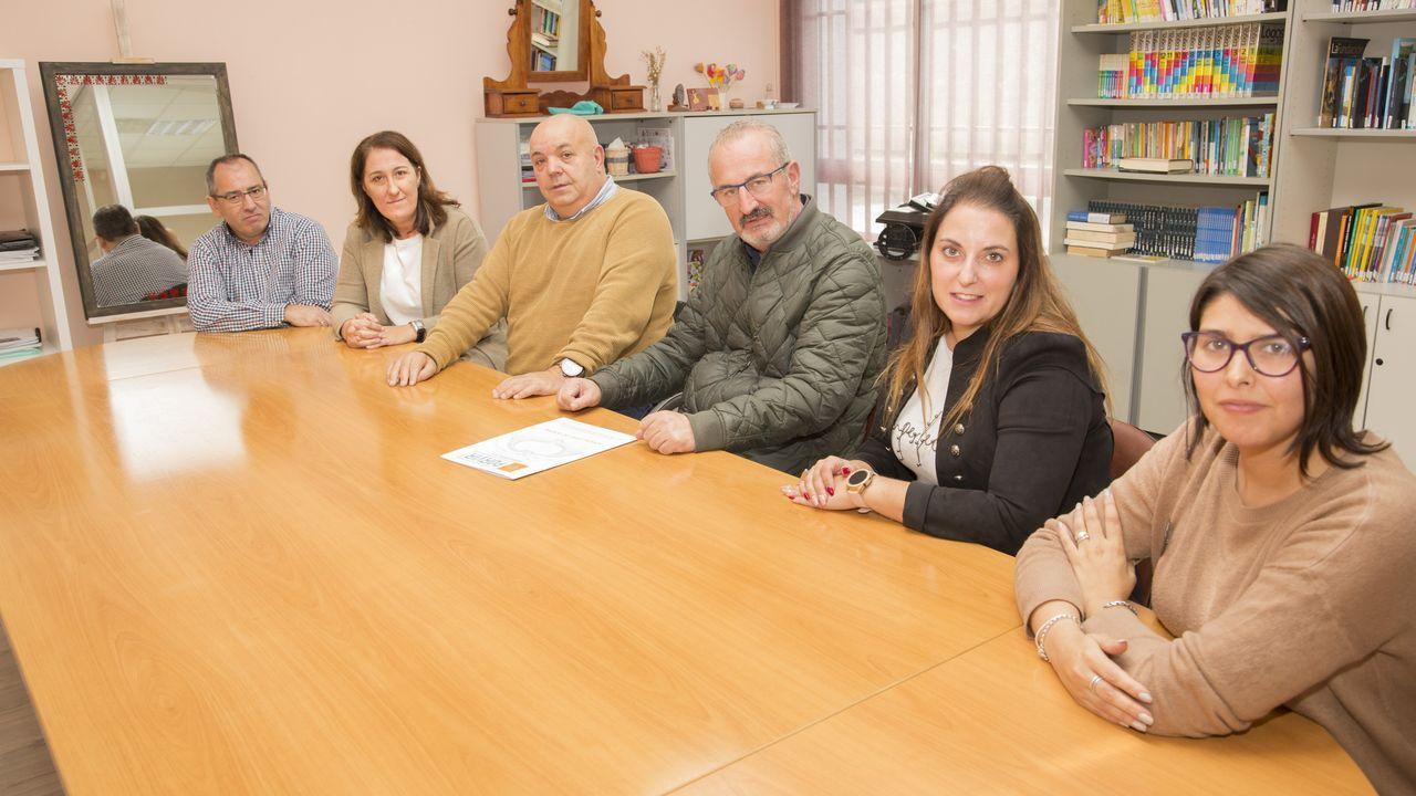 Colas en Lugo para ver la película de Oliver Laxe.Marta López preside la asociación de autónomas, que organiza la feria