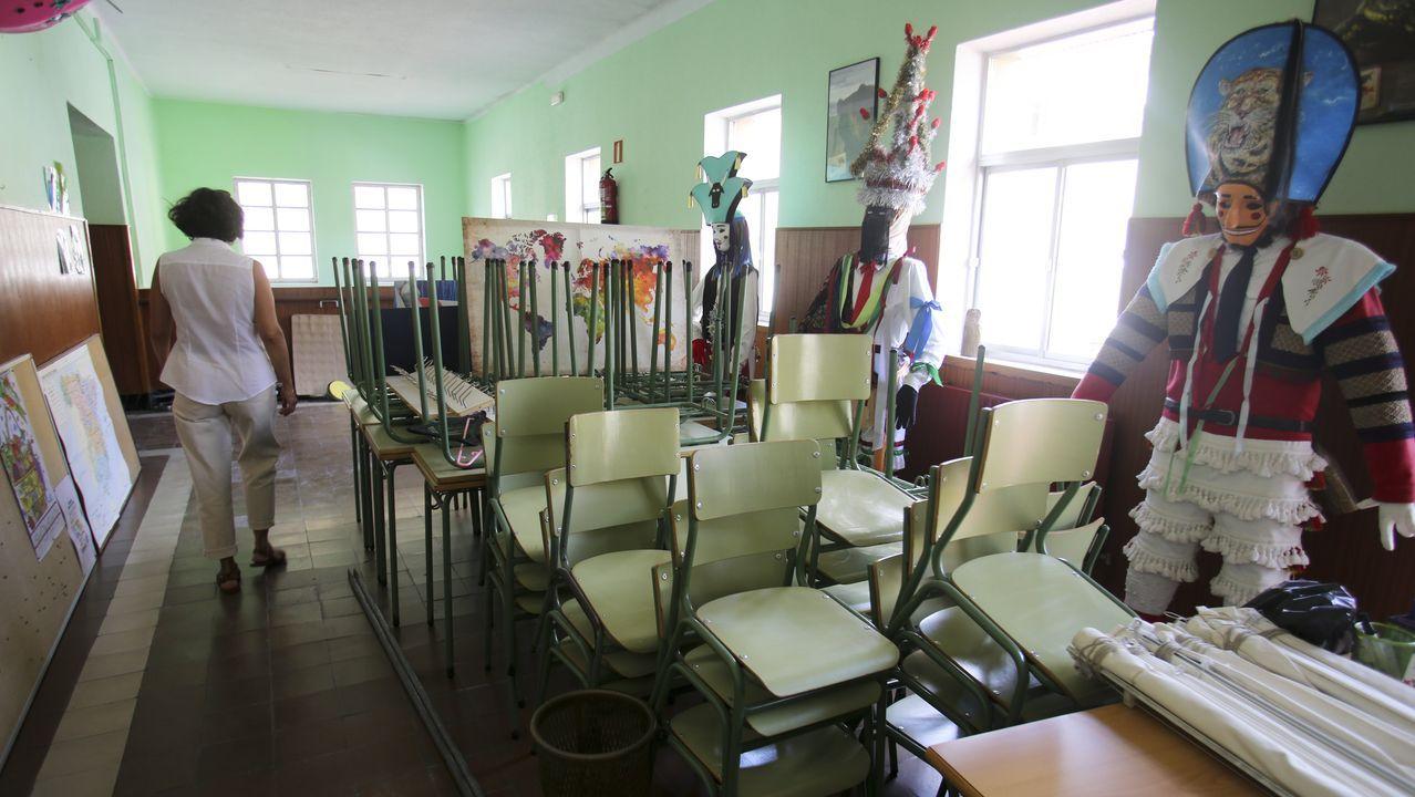 En centros como el de Recimil ultiman los preparativos para la vuelta a las aulas