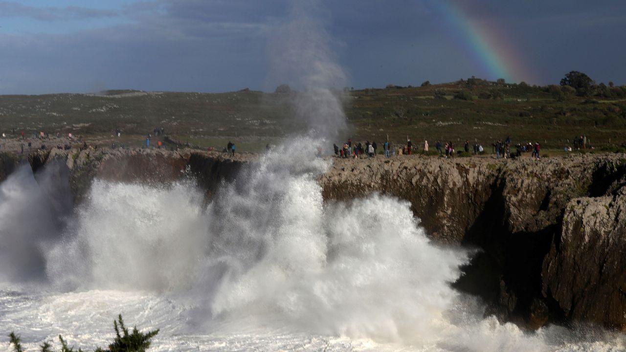 Imagen de las Bufones de Prio en el municipio de LLanes
