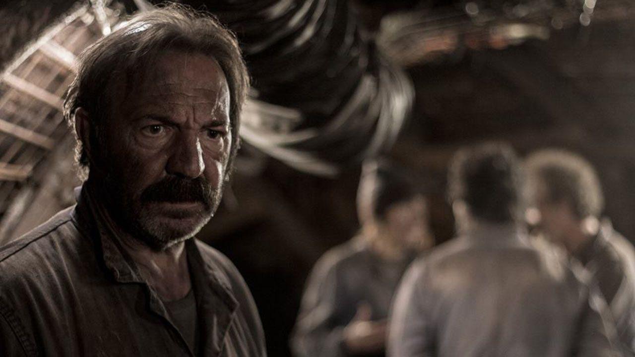 José Antonio Lobato en la película «Enterrados»