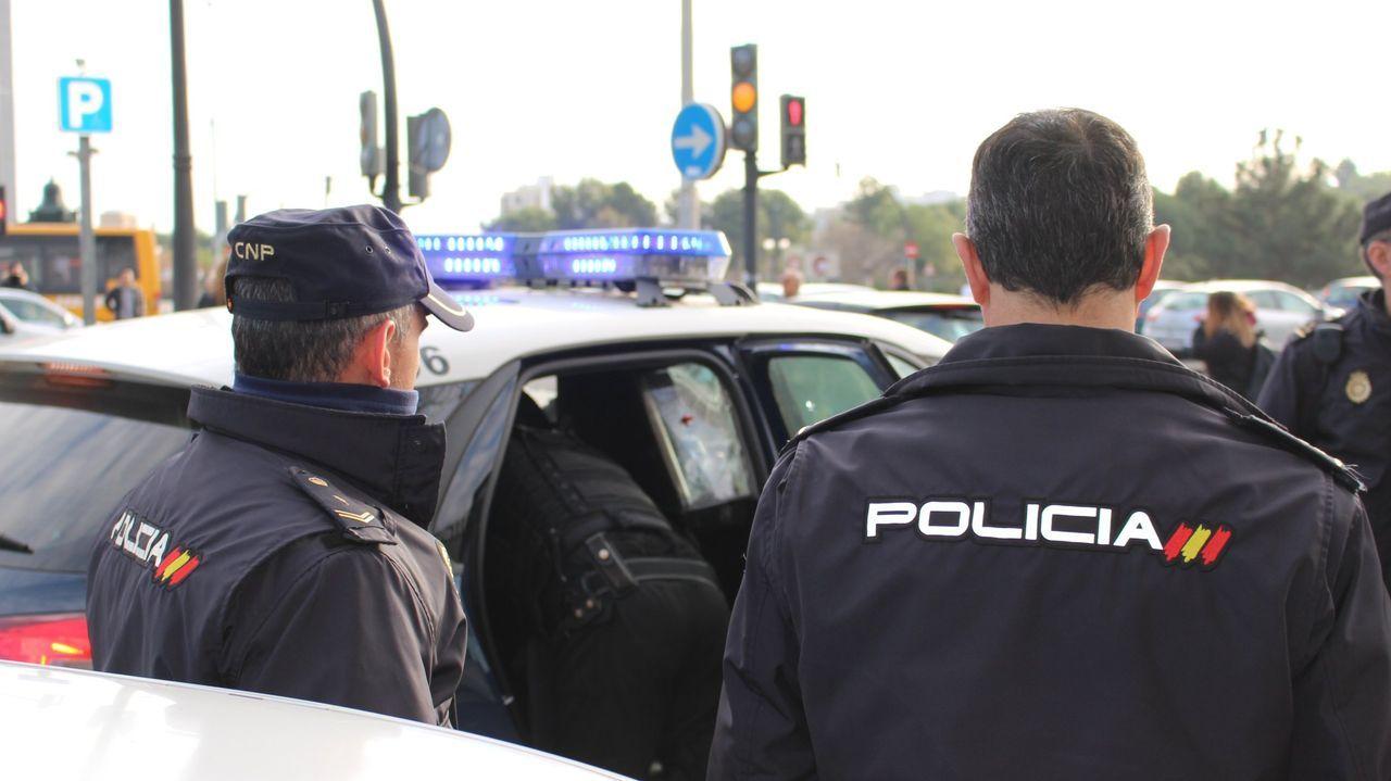 Dos agentes de policía, en una imagen de archivo