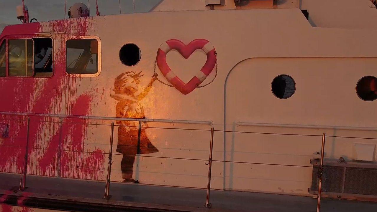 Las organizaciones humanitarias Sea-Watch y Médicos Sin Fronteras presentaron a principios de agosto la embarcación, el Sea-Watch 4, con la que volvieron a trabajar en tareas de rescate en el Mediterráneo central