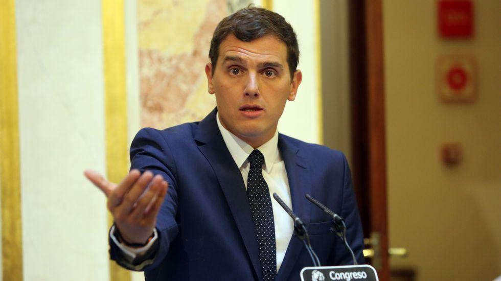 Las seis medidas que pone RIvera para negociar con el PP.Segunda reunión del verano entre Rajoy y Rivera