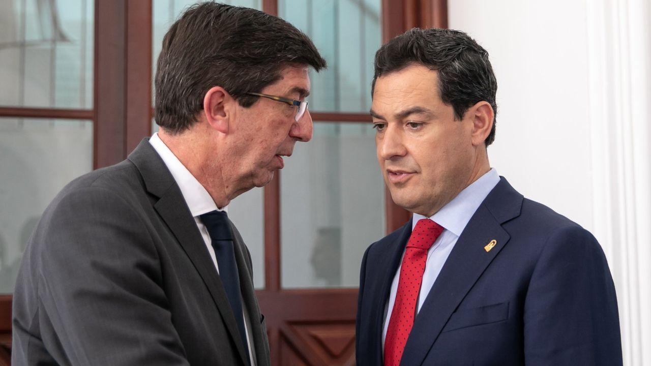 Juan Manuel Moreno y Juan Marín impulsan la iniciativa para que la Junta recupere los fondos