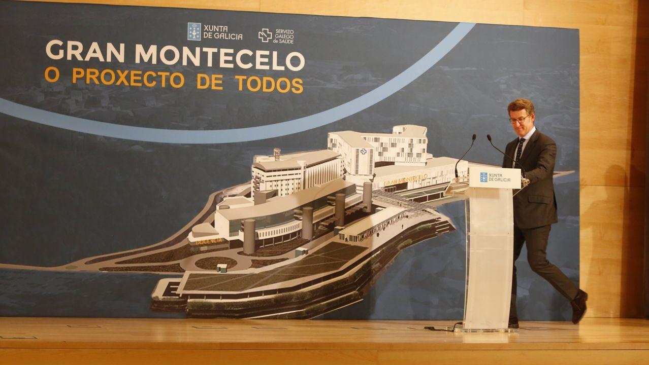 Presentación oficial del proyecto del Gran Montecelo, el 9 de abril del 2018