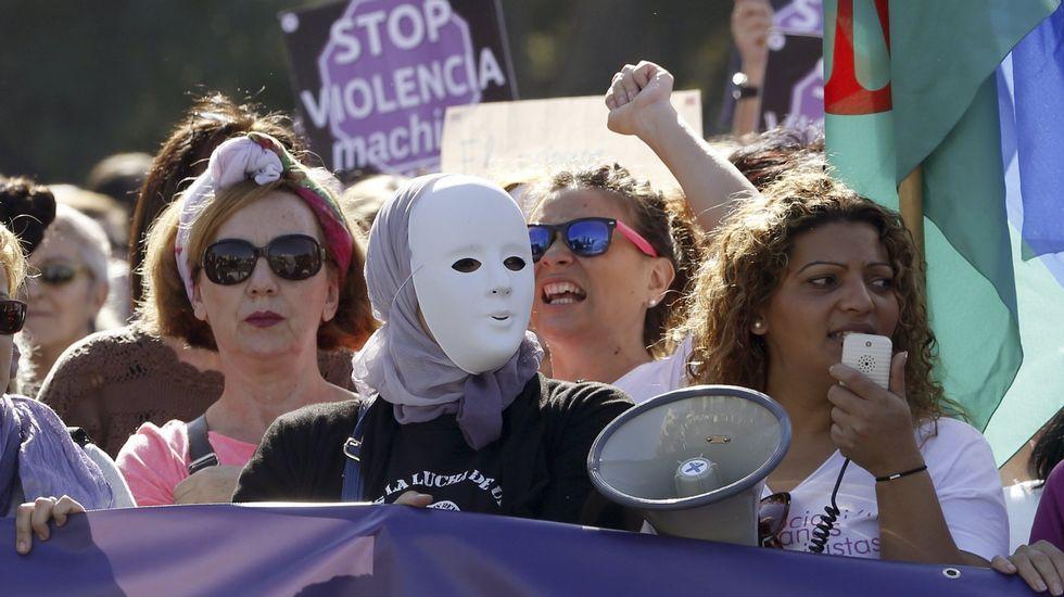 Las ocho pistas que dio Feijoo sobre su futuro.Las calles de Madrid han acogieron el pasado noviembre a miles de personas que se manifestaron en la primera gran movilización nacional contra las «violencias machistas».