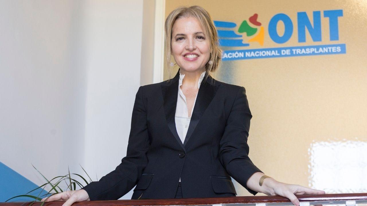 Beatriz Domínguez Gil, directora general de la Organización Nacional Trasplantes