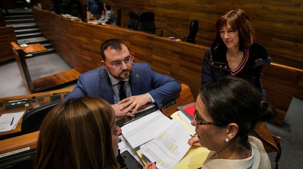 Asturias se reivindica en Fitur.Barbon y Ana Cárcaba