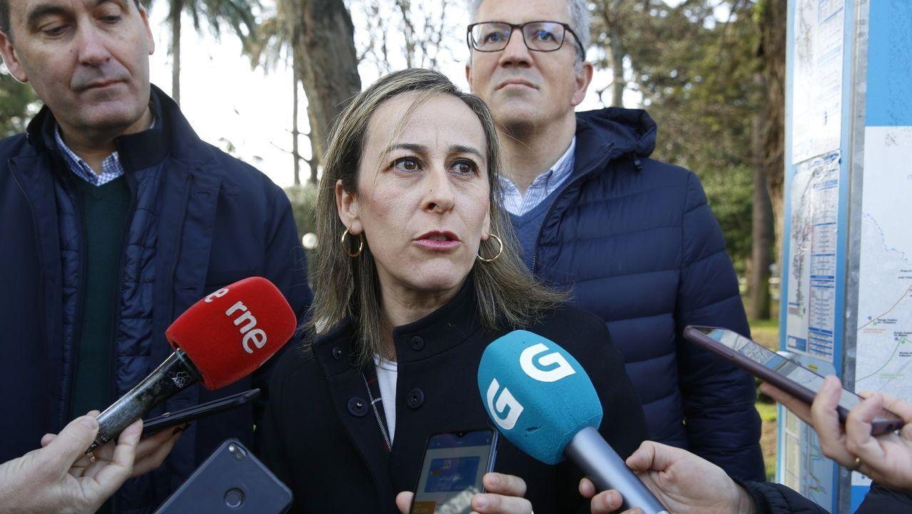 Gonzalo Trenor, Ethel Vázquez y Jeanne Picard