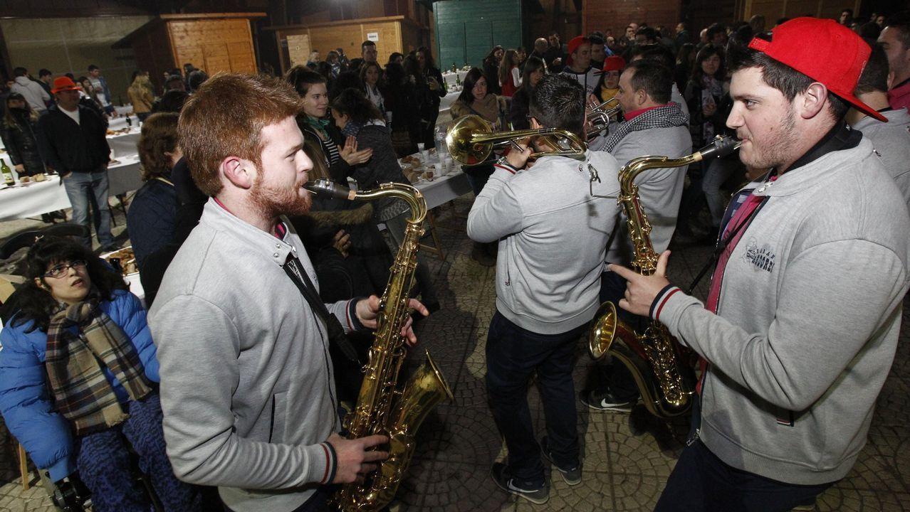 Imagen de archivo de la Festa da Xuventude de Antas