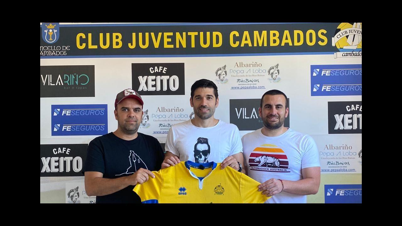 Gerardo Berodia militó en el Club Deportivo Lugo durante una temporada y media, justo cuando el club rojiblanco dio el salto al fútbol profesional