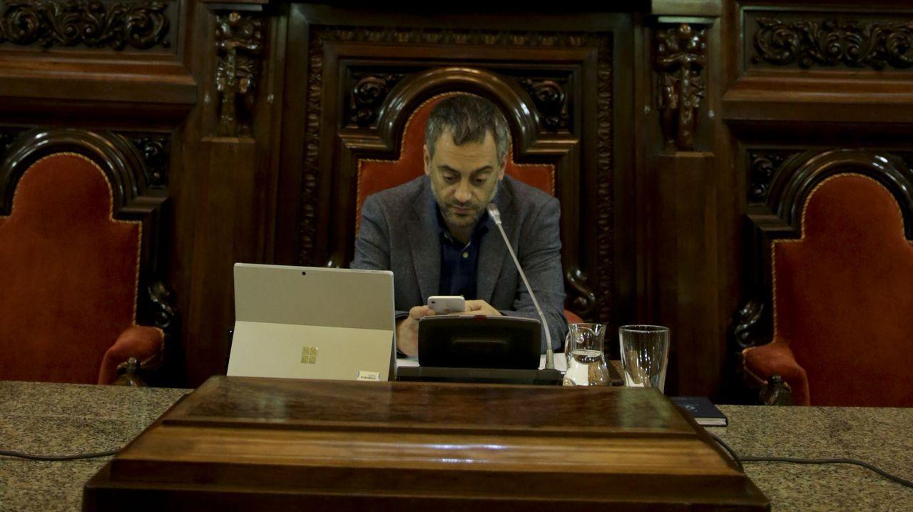 Constitucion del Consello das Mareas , En Marea.Manifestación por la atención primaria y la sanidad pública celebrada este jueves en Vigo