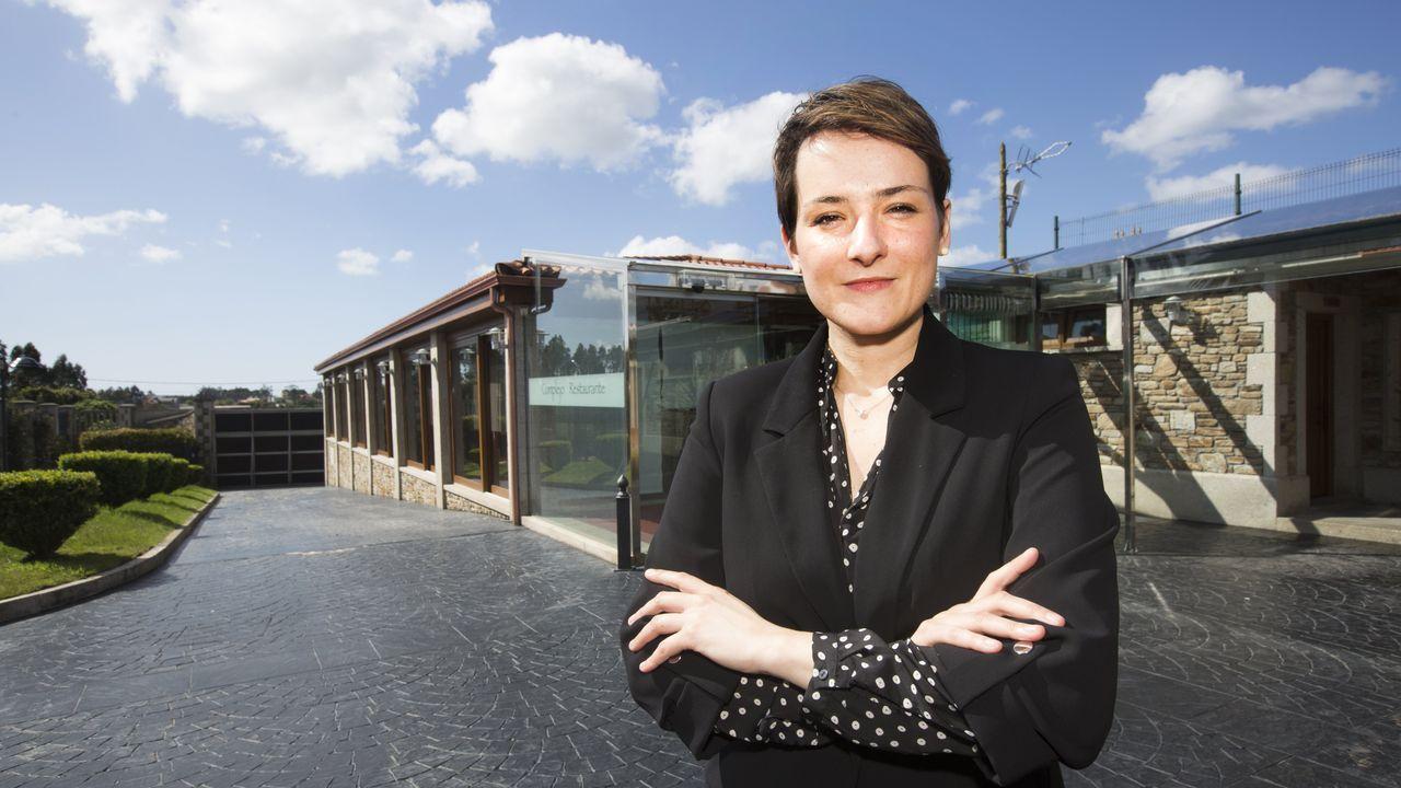 La empresa que se ocupa del negocio hostelero tiene como representante en la zona a una pontevedresa que ha pasado la mayor parte de su vida en la ciudad de Berna.