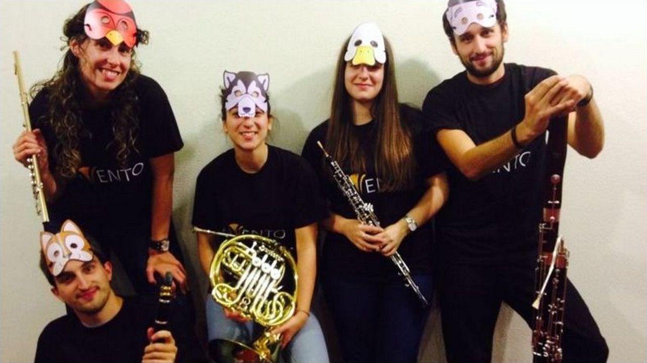 El Quinteto Invento ofrece un concierto familiar en el Festival Bal y Gay