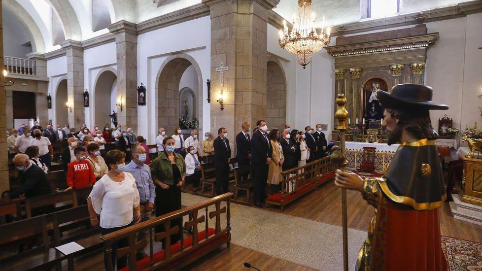 Así fueron las fiestas de San Roque y Día do Emigrante en Ordes.Ángel Dacasa, en una imagen de archivo