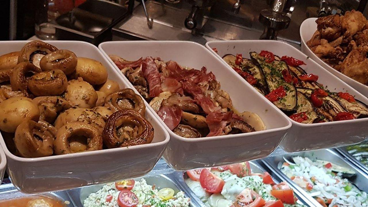 Así presentan sus productos en el restaurante «El Fontán»