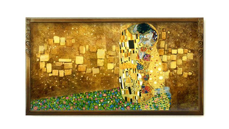 Klimt.Los alicantinos visitaron Malpica por la tarde