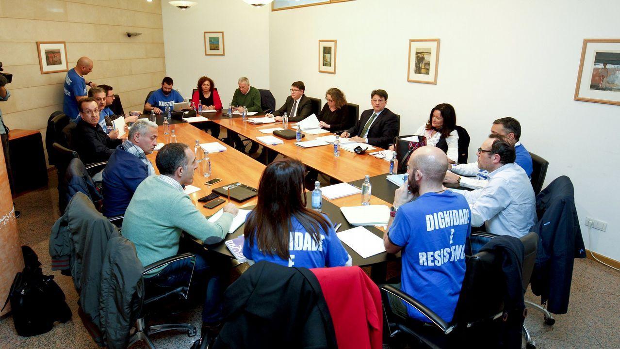 Los sindicatos de Xustiza tienen hasta el viernes para aceptar la oferta de la Xunta.Mesa sectorial que tuvo lugar este martes