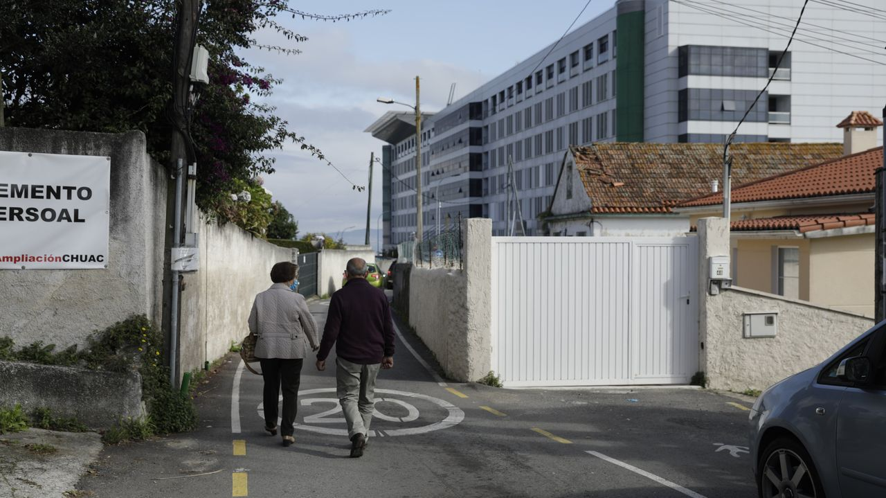 Vista de la fábrica de armas, donde se ubicará la Cidade das TICS