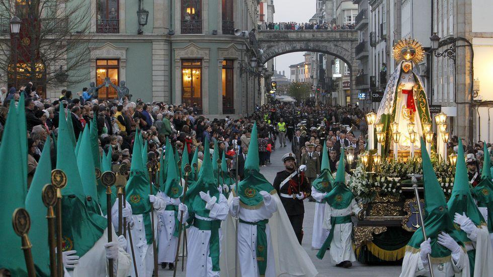 La Virgen de la Esperanza, en Lugo