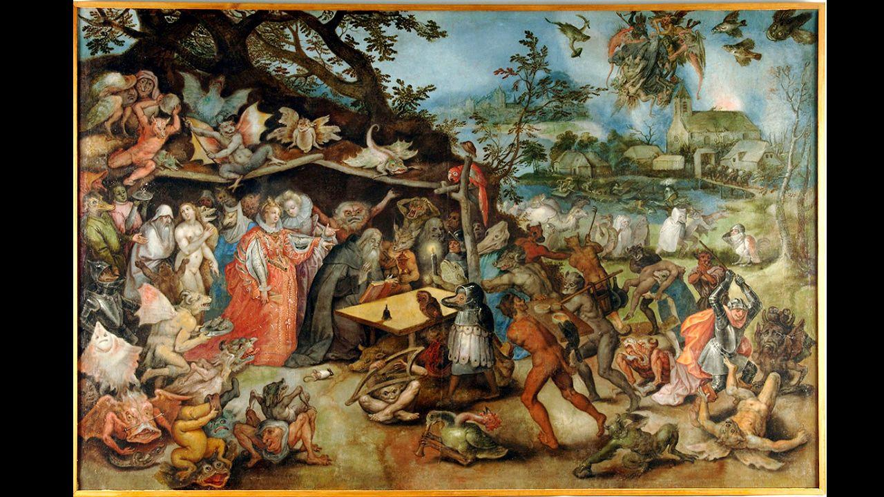 'Tentaciones de San Antonio Abad', de Jan Brueghel (1568-1625), una de las obras que vendrán a Oviedo