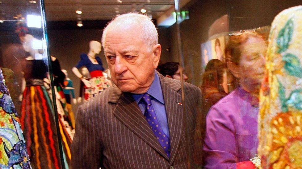 Uno de los accionistas de «Le Monde», Pierre Bergé