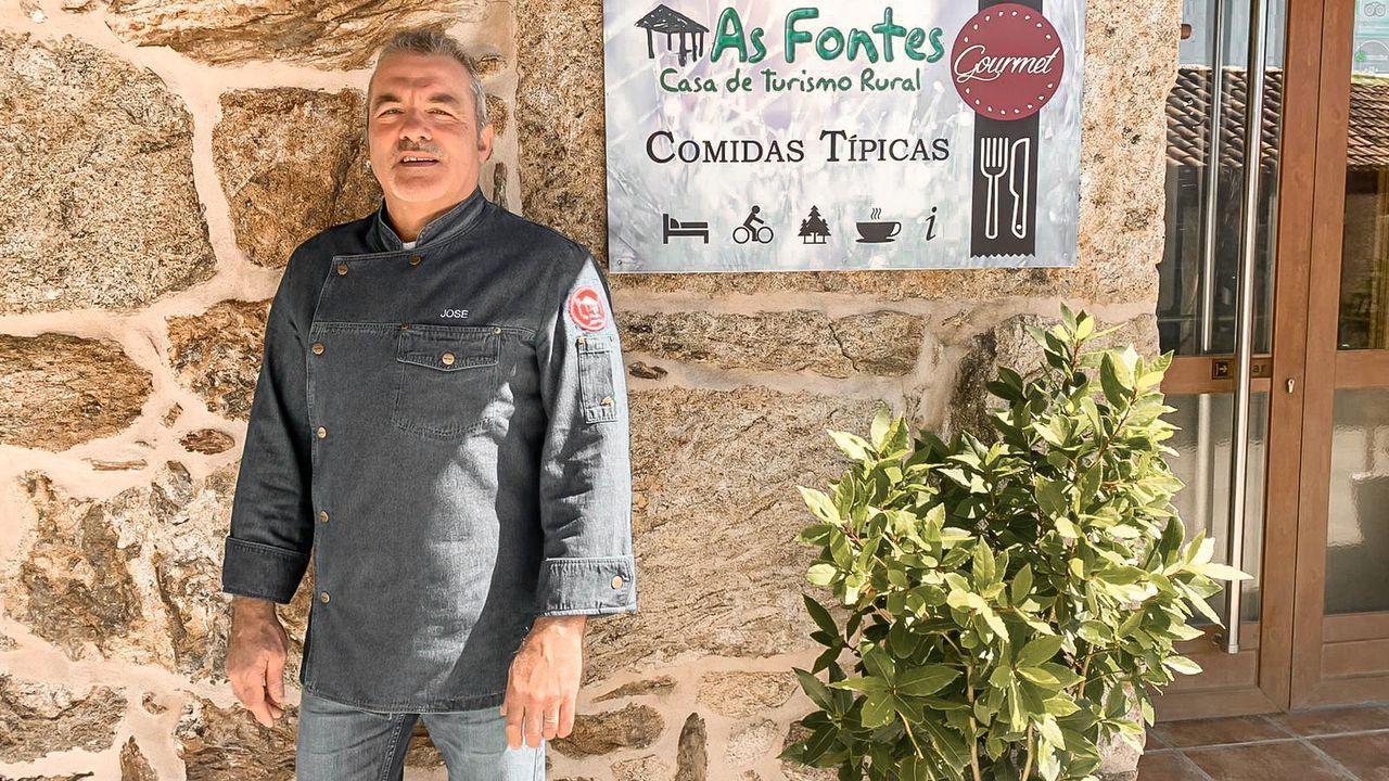 José Manuel Pereira Carballo, propietario de la casa rural As Fontes