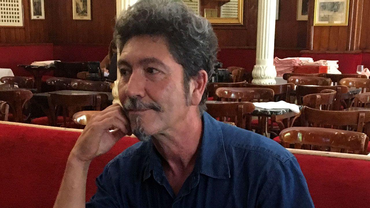 Llegan los primeros al Son do Camiño.Pedro A. González Moreno