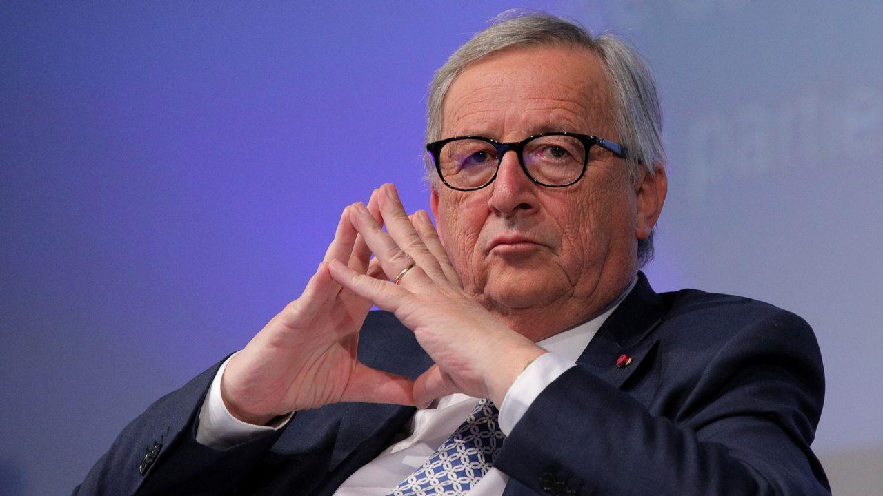 Aspirantes a dirigir los puestos más relevantes de la UE.El presidente de la Comisión Europea, Jean-Claude Juncker