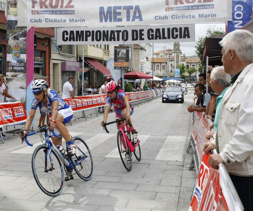 Búscate en la carrera do Carneiro ó Espeto de Moroña.La local, Irene Trabazo, fue la mejor júnior de ayer.