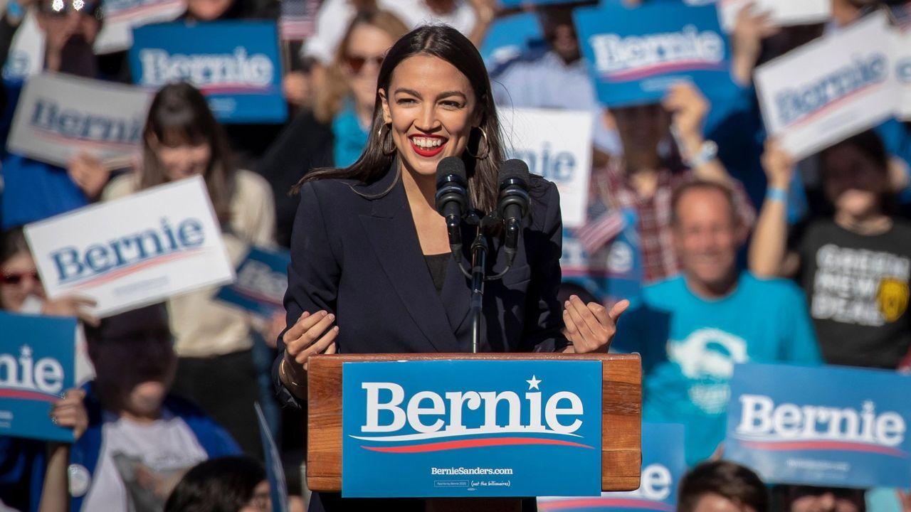La congresista Ocasio-Cortez, principal voz del Green New Deal en Estados Unidos