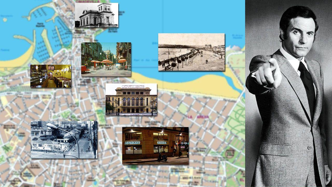 El archivo del Cinema Palacio de Pinzales.Algunos de los lugares clave de Gijón en la biografía de Arturo Fernández