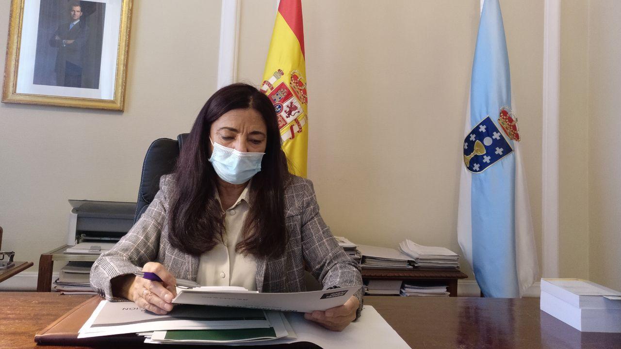 Isabel Rodríguez, subdelegada del Gobierno en Lugo