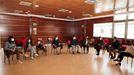 Imagen de archivo del acto llevado a cabo en el consistorio de Culleredo, por lo que se le reconoció a Dismacor su labor en el vigésimo aniversario de su fundación