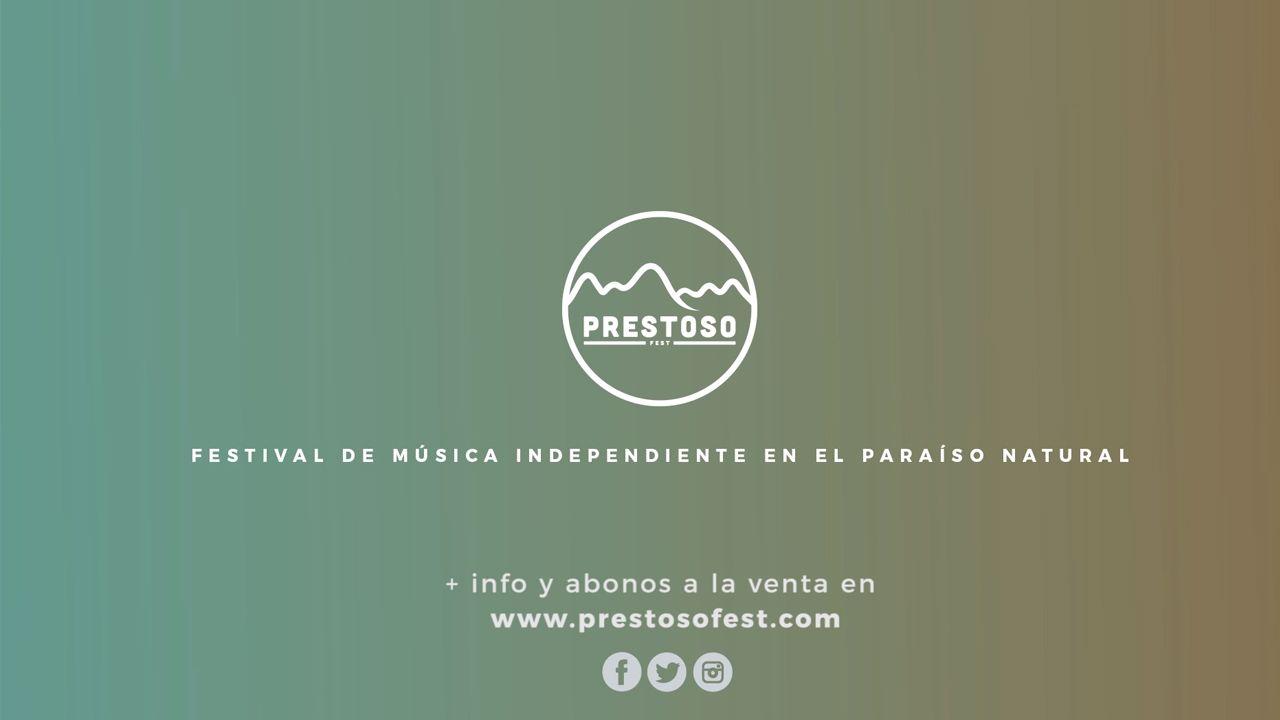 Primeras confirmaciones del Prestoso Fest.Las autoridades de Oviedo contemplan una maqueta del vertedero de Cogersa
