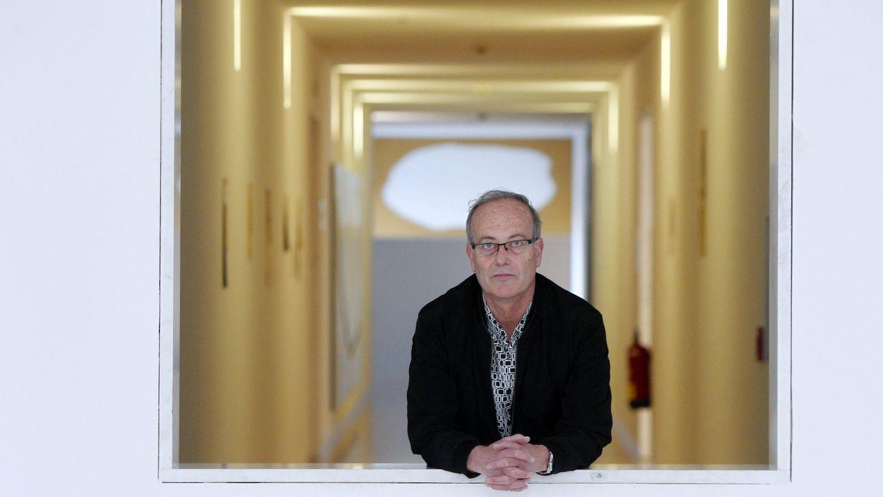 Santiago Olmo, director del CGAC